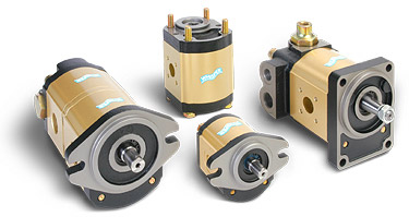 Aluminum body hydraulic pumps and motors